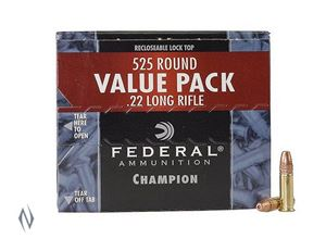 Picture of FEDERAL 22LR 36GR HP HV CHAMPION 525 PACK