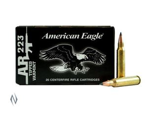 Picture of FEDERAL 223 REM 50GR TIPPED VARMINT AMERICAN EAGLE PACK 20