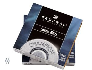 Picture of FEDERAL PRIMER 205 SMALL RIFLE 100 PACK