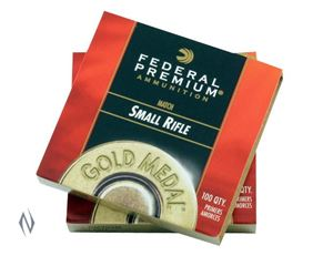 Picture of FEDERAL PRIMER GM205M GOLD MEDAL SMALL RIFLE 1000 PACK