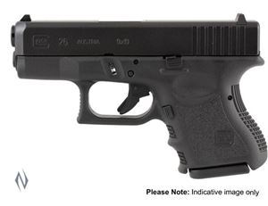 Picture of GLOCK 36 45 ACP SUB COMPACT 6 SHOT 96MM PISTOL