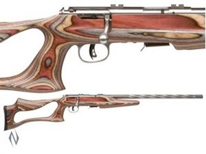 Picture of SAVAGE 93 22 WMR BSEV JACARANDA EVOLUTION STAINLESS RIMFIRE RIFLE