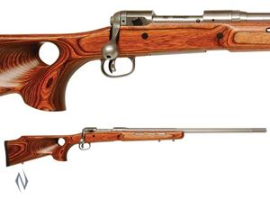 Picture of SAVAGE 12 STAINLESS LAMINATED THUMBHOLE DM RIFLE