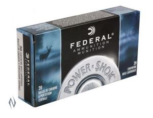 Picture of FEDERAL 30-06 SPR 180GR SP POWER-SHOK