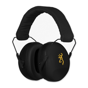 Picture of BROWNING BUCKMARK II EAR MUFFS BLACK (26DB)