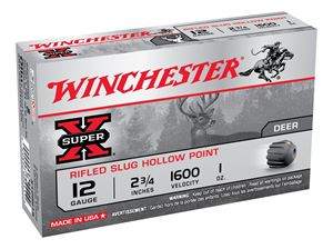 """Picture of WINCHESTER SUPER X 12G RIFLED SLUG 2-3/4"""" 28GM"""