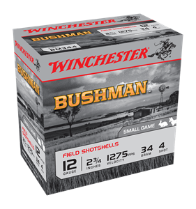 "Picture of WINCHESTER BUSHMAN 12G 4 2-3/4"" 34GM"