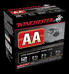 "Picture of WINCHESTER AA LITE HANDICAP 12G 7.5 2-3/4"" 28GM TARGET SHOTSHELL"