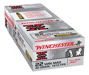 Picture of WINCHESTER SUPER X 22WMR 40GR FULL METAL JACKET