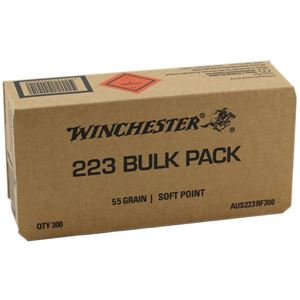 Picture of WINCHESTER AUS VALUE PACK 223 REM300 RND BULK PACK 55 GRAIN SP