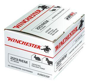 Picture of WINCHESTER AUS VALUE PACK 223 REMINGTON 45GR JHP