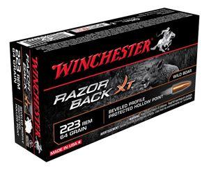 Picture of WINCHESTER RAZORBACK XT 223 REMINGTON 64GR