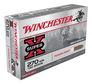 Picture of WINCHESTER SUPER X 270WIN 130GR PP