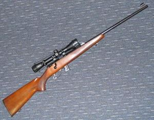 Picture of ZASTAVA MP22 22 SECOND HAND RIMFIRE RIFLE